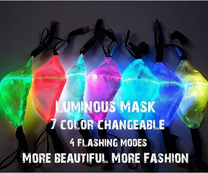 Anti Family Cover Balaclavas Bandanas 2020 Light Up Protective Transpirable Face/_Coverings Xshuai 10PCS 2021 Happy New Years Face/_Masks para adultos