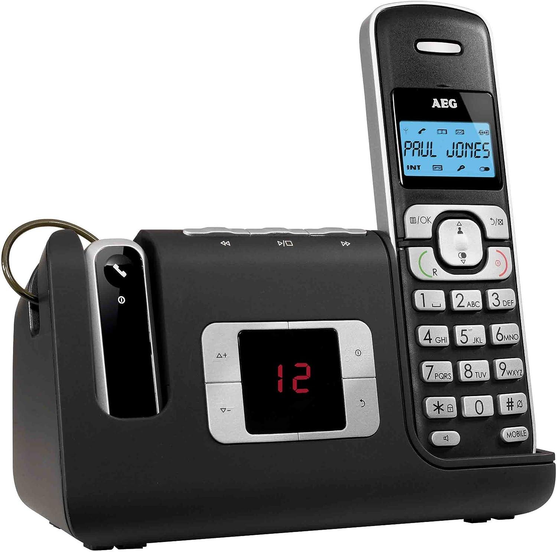 AEG - Teléfono Inalámbrico Voxtel D-235 Dect: Amazon.es: Electrónica