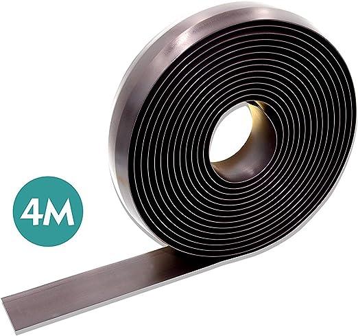 Turpow Rollo de cinta limitadora magnética para robot aspirador de ...