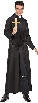 Generique - Disfraz de Cura clásico para Hombre XL: Amazon.es ...