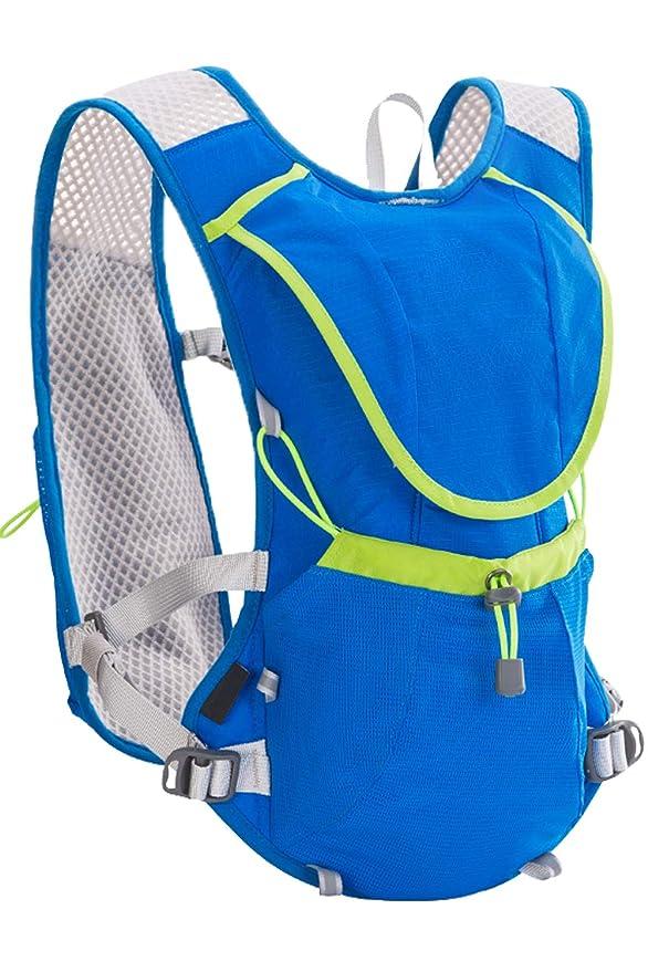 Amazon.com : SMTD Camping Climbing Cycling Running Hiking Backpacks Hydration Packs 2.7 L TPU Water Bladder Bottles Blue : Sports & Outdoors