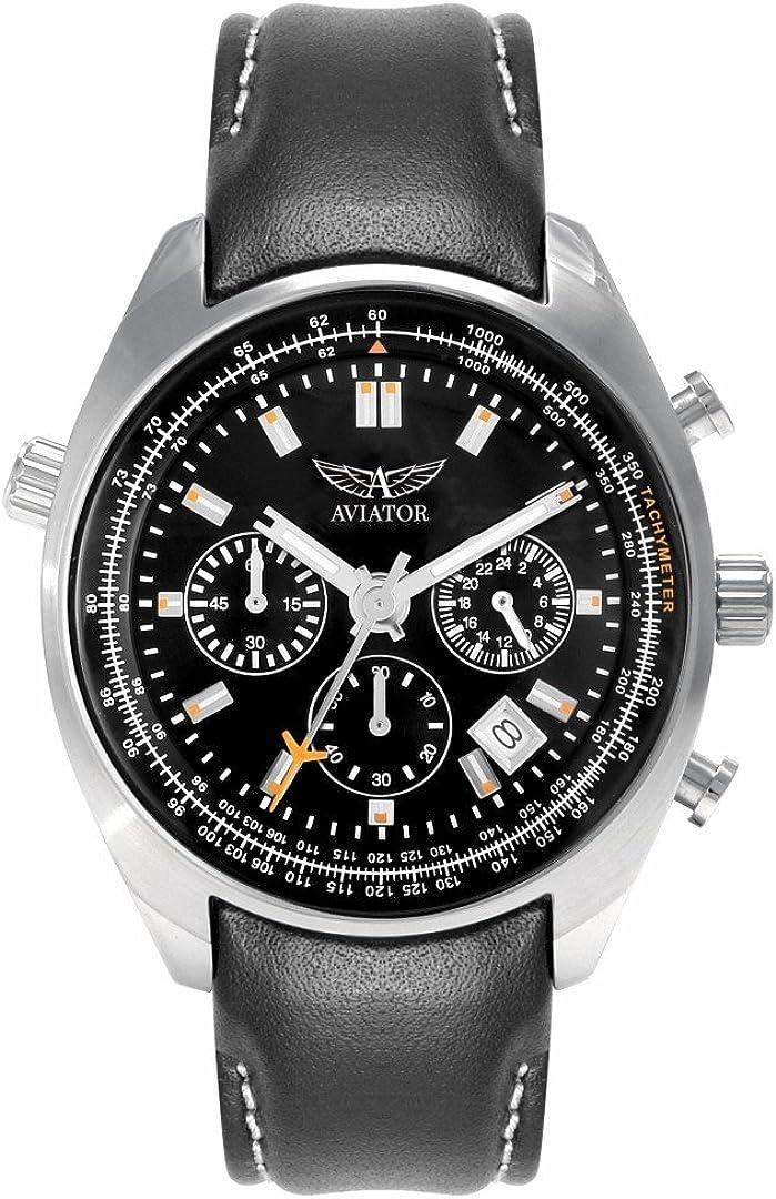 Aviator - Reloj de piloto para hombre, referencia AVW5839G1.