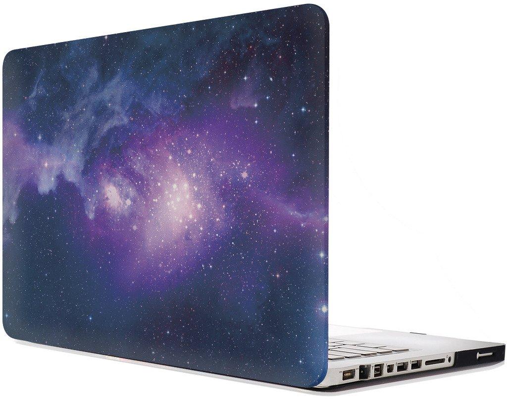 Topideal Coque de protection mat effet givr/é pour MacBook Pro mod/èle A1278 13,3 non r/étina violet