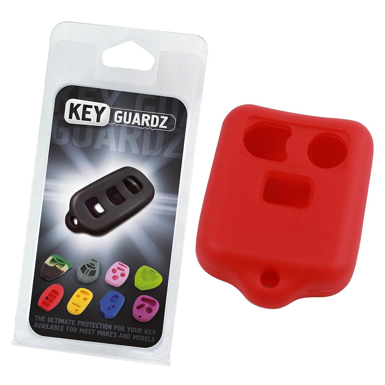 KeyGuardz Black Rubber Keyless Entry Remote Key Fob Skin Cover Protector LYSB00HVHMW9C-ELECTRNCS