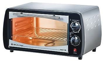 Buy Bajaj 1000 TSS 10 Litre Oven Toaster Grill Silver Black
