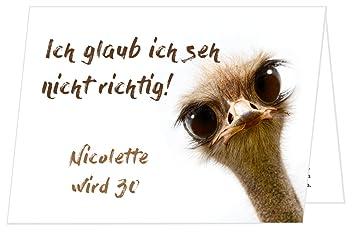 Unser Festtag Schrager Vogel Geburtstagseinladungen Runder