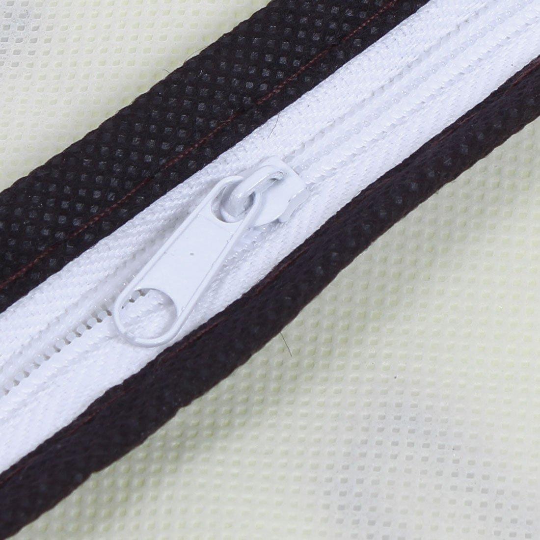Amazon.com: eDealMax Chaqueta de Traje de ropa de Abrigo colgado a prueba de polvo cubierta protectora de la Bolsa de 88cm de Largo Beige: Home & Kitchen