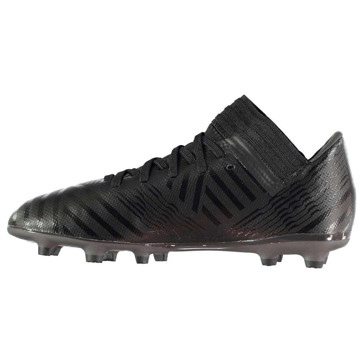 adidas Nemeziz 17.3 FG Firm Ground Kids Soccer Soccer Boot Black Nite Crawler