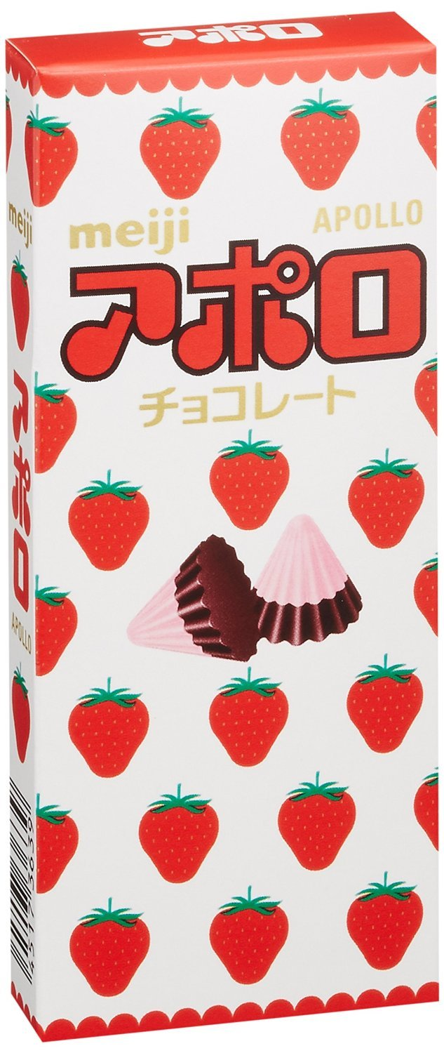 Meiji Apollo - Chocolate de fresa: Amazon.com: Grocery ...