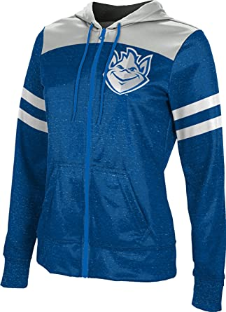 School Spirit Sweatshirt Brushed Saint Louis University Girls Zipper Hoodie