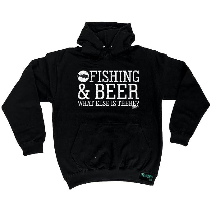 Gift Idea Men/'s Hoody Bait Funny Sport Fish Hoodies FISHING /& BEER