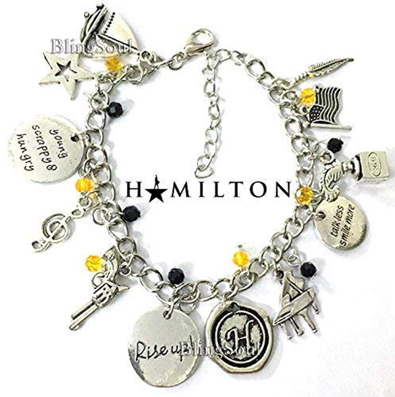 Hamilton Broadway Alexander Musical Jewelry - Disney Jewelry Merchandise Gifts Collection ⚡️Flash Sale⚡️ by BlingSoul (Image #3)