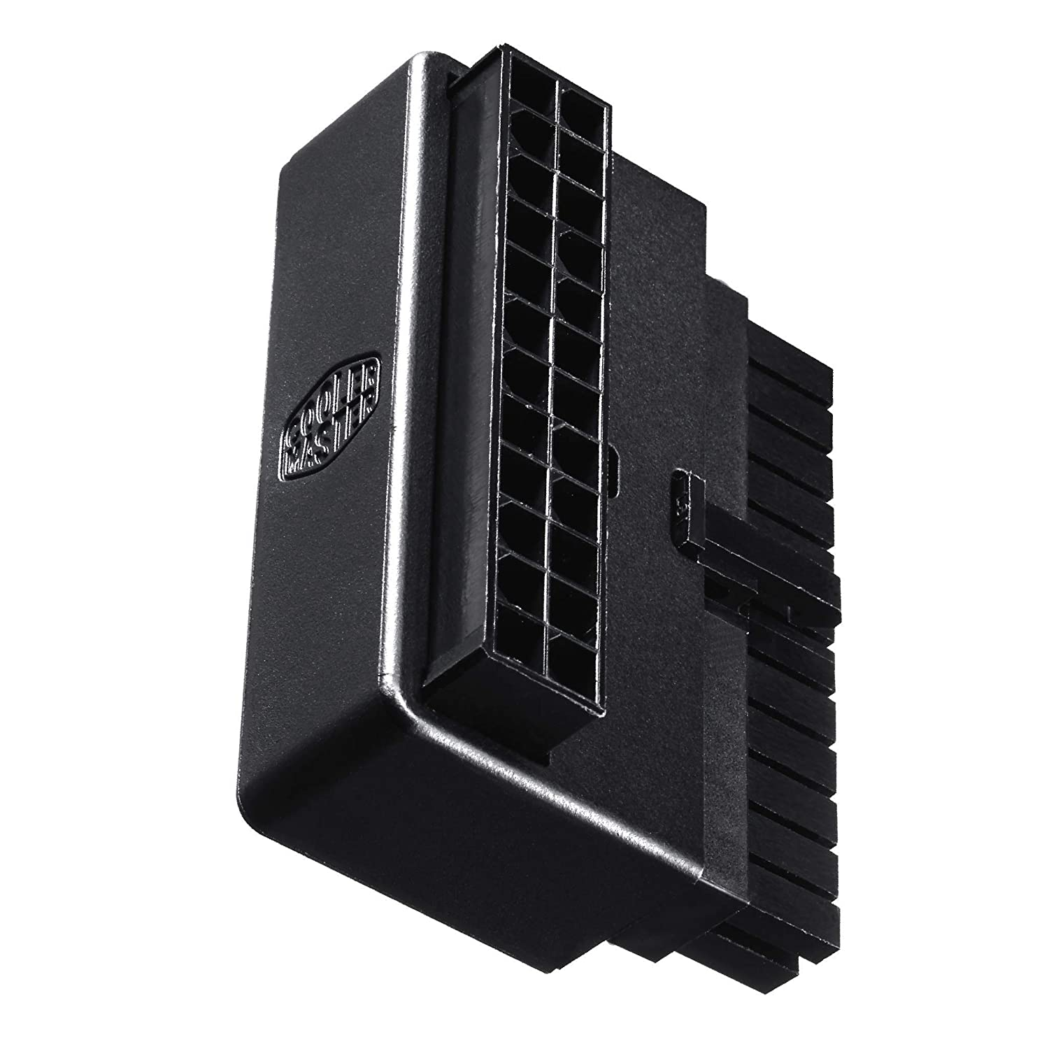 Cooler Master 24 Pin 90 Degree Adapter (with Build-in Capacitor) Cooler Master USA Inc. CMA-CEMB01XXBK1-GL