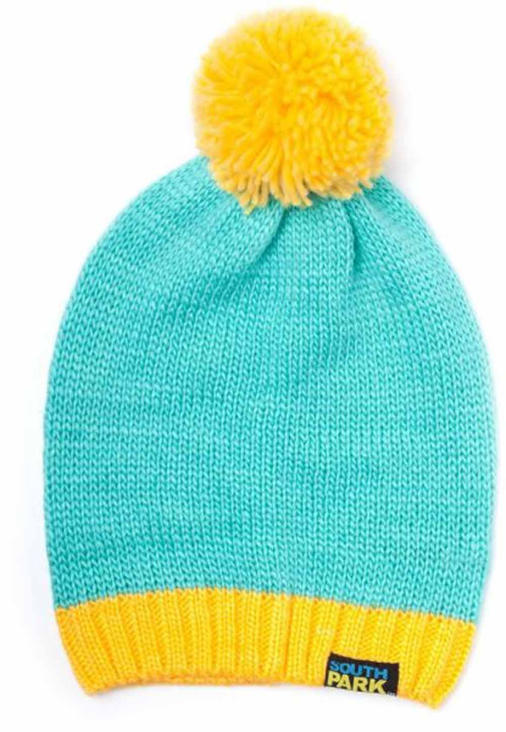 South Park Cartman Beanie (Blue Yellow)  Amazon.co.uk  Toys   Games 374cb3d754a