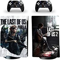 The last of Us Skin Sticker Decal for playstation5 PS5 Digital Edition Console and 2 Skin Controllers