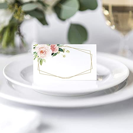Amazon.com: Bliss Collections - Tarjetas de mesa para boda o ...