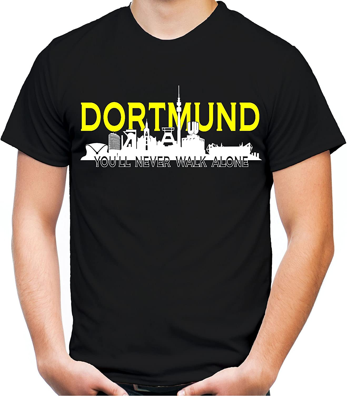 Dortmund Skyline – Camiseta   Hombres   Hombre   Sport   Zeche   Fútbol   Ruhrpott   balonmano   Voleibol, negro, medium: Amazon.es: Deportes y aire libre
