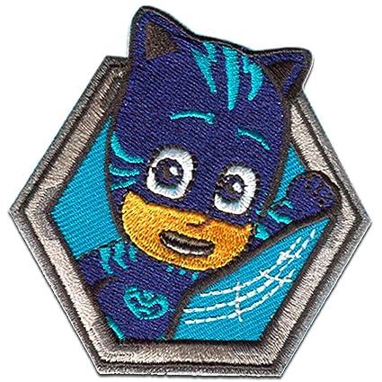 Parches - PJ MASKS Héroes en pijamas CATBOY 2 Disney - azul - 6,7