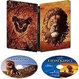【店舗限定特典あり】ライオン・キング 4K UHD MovieNEX スチールブック [4K ULTRA HD+ブルーレイ+デジタルコピー+MovieNEXワールド] [Blu-ray] (コレクターズカード付き)