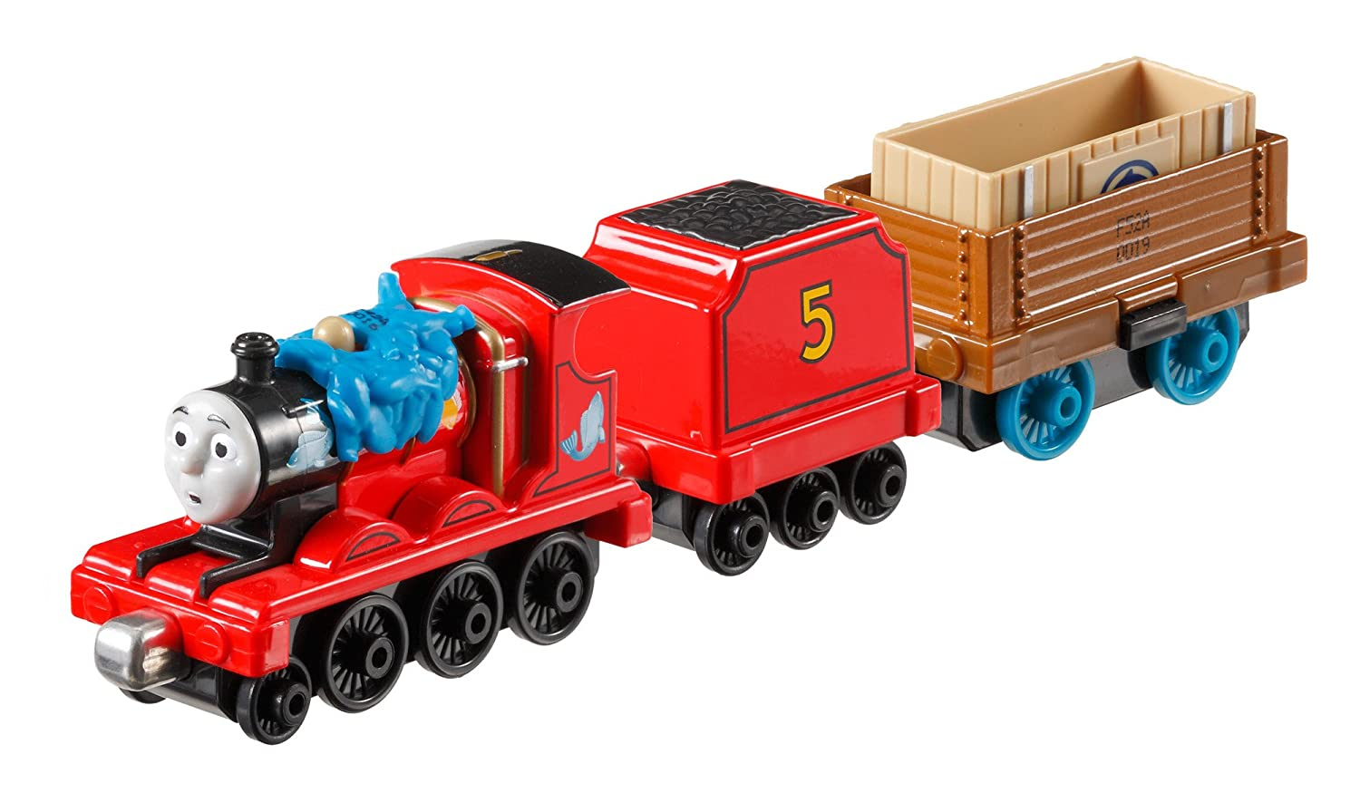 Fisher price thomas amp friends trackmaster treasure chase set new - Amazon Com Fisher Price Thomas The Train Take N Play James And The Flying Kipper Toys Games