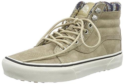 abbda23442d Vans Women s U Sk8-Hi MTE Trainers Beige Beige  Amazon.co.uk  Shoes   Bags