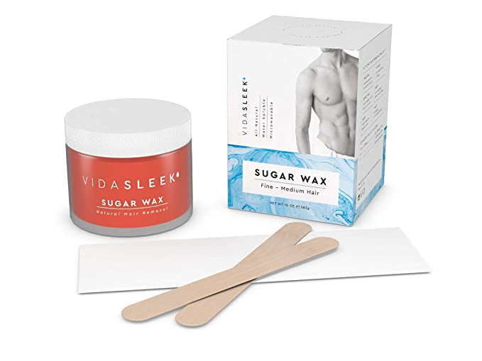 Amazon Com Hair Removal Sugar Waxing Kit Men Women All
