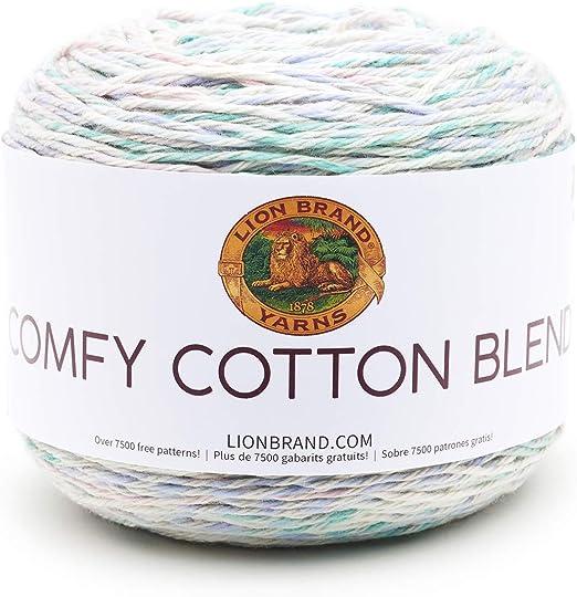Lion Brand 24//7 Cotton High Quality Yarn In many Colors 187 Yards Crochet Yarn