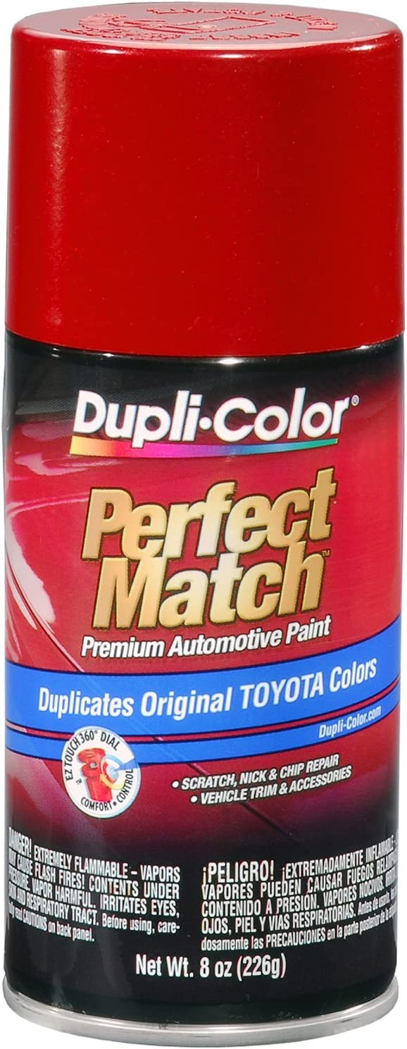 Dupli-Color - EBTY16187-6pk BTY1618 Metallic Barcelona Red Auto Spray Paint for Scion & Toyota Vehicles