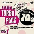 Zoom Karaoke CD+G Turbo Pack - 1970s/Seventies - 10 Discs [Card Wallets]
