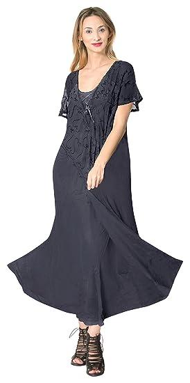 691ca0bfcca5 LA LEELA Maillot de Bain Bikini Plage Plage féminin Couvrir n Blue Robe  décontractée  Amazon.fr  Vêtements et accessoires