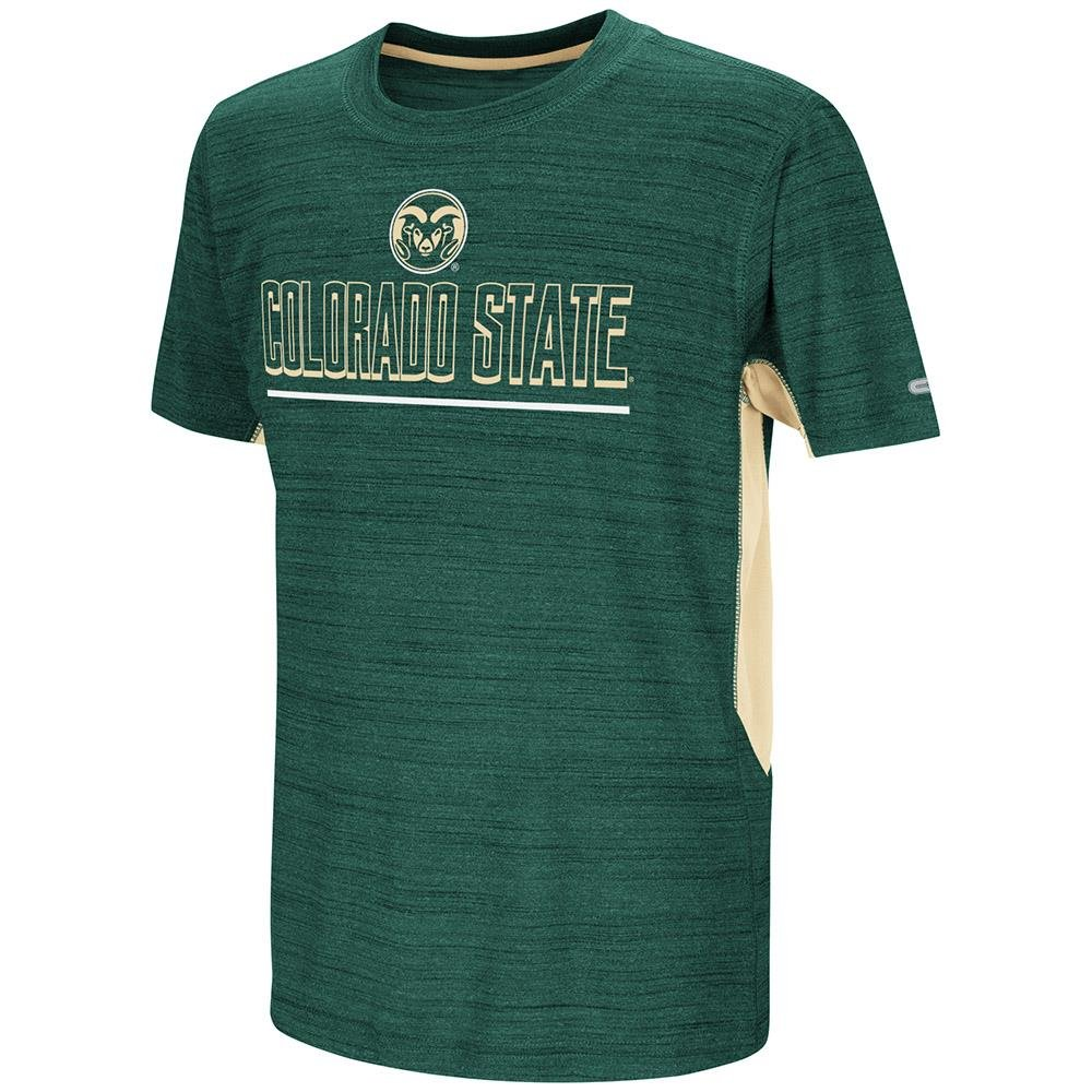 Youth Colorado State Rams Short Sleeve Tee Shirt