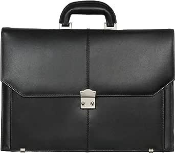 Leather Shop Briefcases For Men-Black