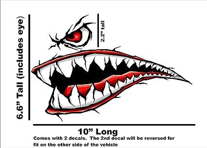 Guerra Mundial 2 Flying Tigre Fighter dientes dientes nuevo ...