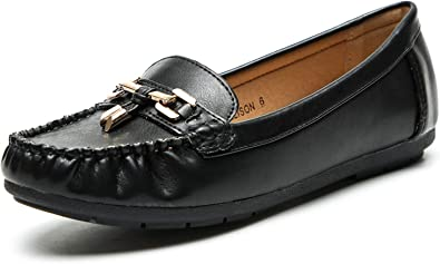LL STUDIO Womens Synthetic Driving Walking Moccasins Loafers Flats Shoes