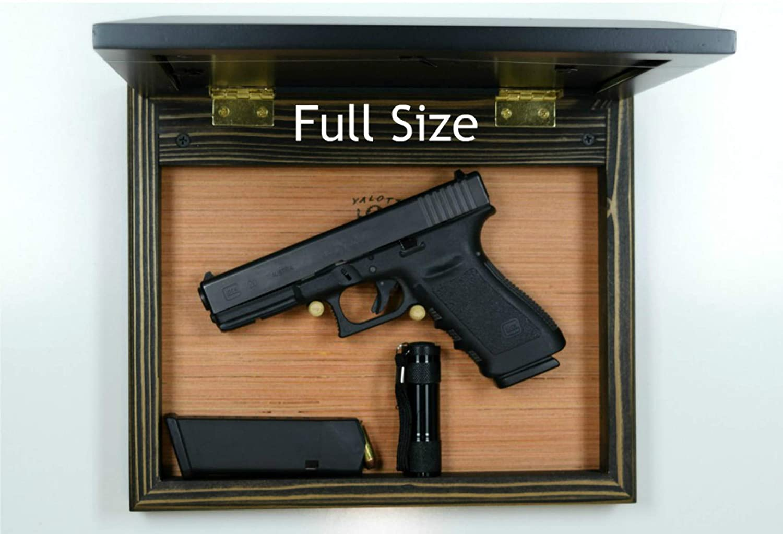 magnet dark home defense accessory Hide a gun furniture pistol storage spot