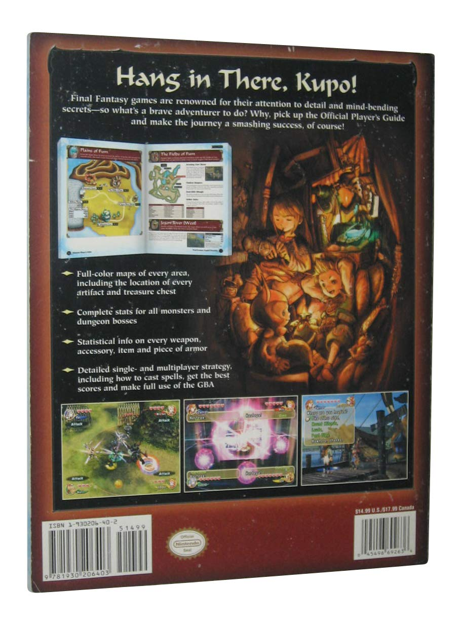 Final Fantasy Crystal Chronicles: Official Nintendo Power ...