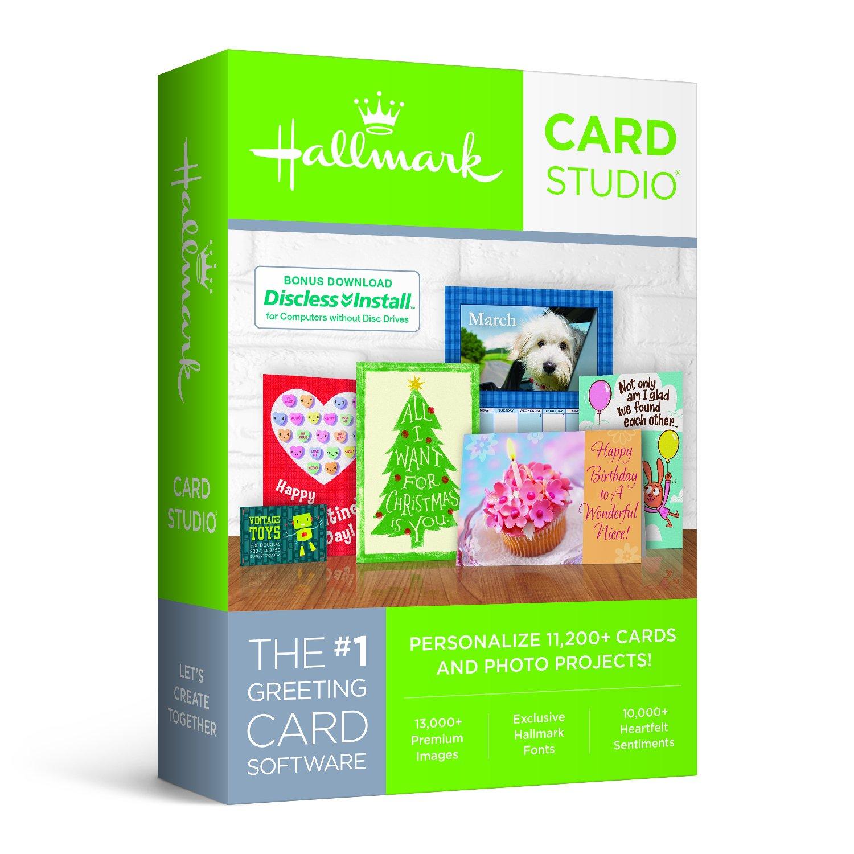 Amazon Hallmark Card Studio 2018 Software