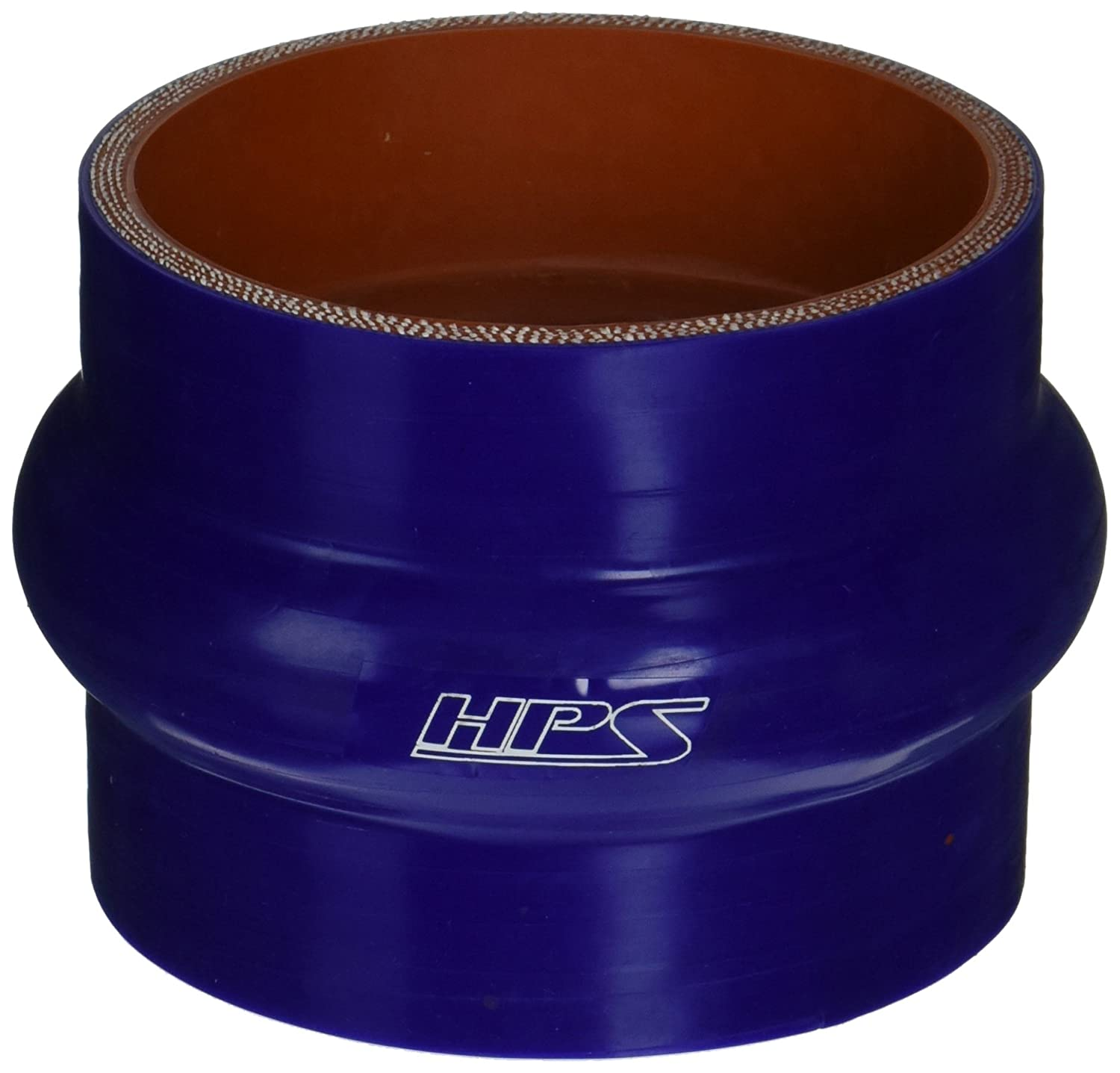 Blue HPS HTSHC-350-BLUE Silicone High Temperature 4-ply Reinforced Straight Hump Coupler Hose 40 PSI Maximum Pressure 3-1//2 ID 3 Length