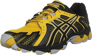 5 Homme Gel Trainer Trail Mustardblack Pour Asics Sensor Jaune FqPUn