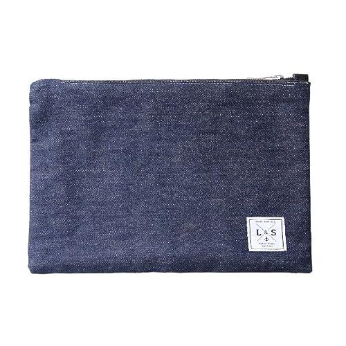 Land and Sea Sea - Cartera de mano de tela para mujer Azul turquesa 30 x 22 cm: Amazon.es: Zapatos y complementos