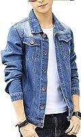 (アルファーフープ) α-HOOP メンズファッション カジュアル デニム Gジャン アウター ジャケット S ~ XL DMEG