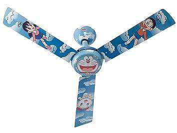 Buy usha doraemon copter 1200mm kids ceiling fan without regulator usha doraemon copter 1200mm kids ceiling fan without regulator multi color aloadofball Image collections