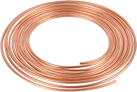 Pack of 5 M10 x 1.0 Thread, Bubble Flare ASD Brake Line Tube Nuts For 3//16 Tube Metric