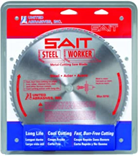 SAIT 23172 Type 1 4 by 0.045 by 5//8 United Abrasives SAITech Cutting Wheel United Abrasives 50-Pack