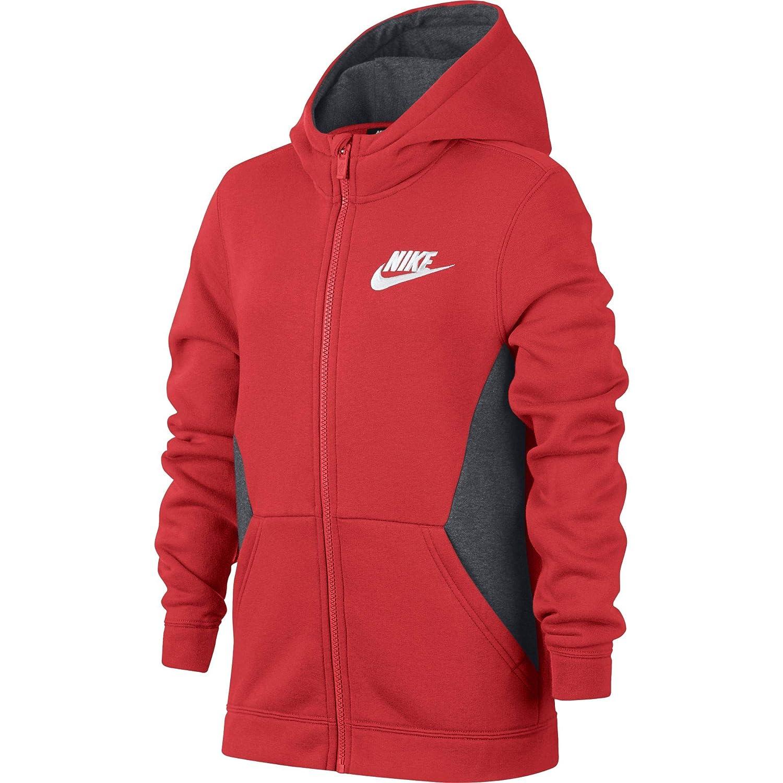 Nike Boys Sportswear Full Zip Hoodie 939639 010