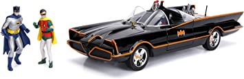 Jada 98625 DC Comics Classic TV Series Batmobile Die-cast Car, 1:18 Scale Vehicle