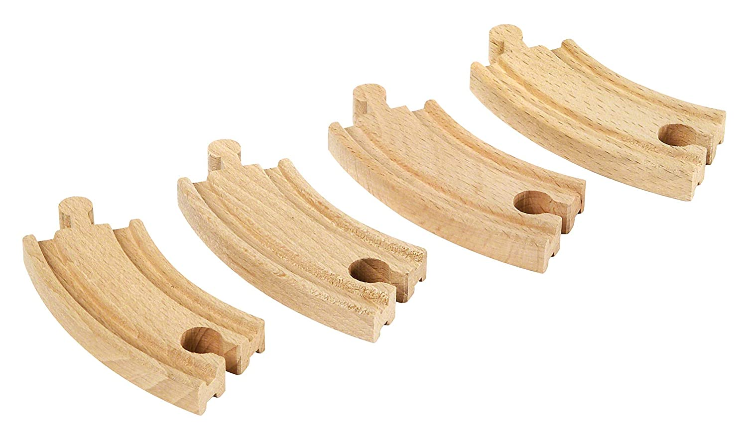 B00000IU3D BRIO World 33337 - Short Curved Tracks - 4 Piece Wooden Track Tracks for Kids Ages 3 and Up 716cdm-AO2L