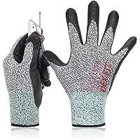 DEX FIT Gardening A2 Cut Resistant Gloves CR533, 3D Comfort Stretch Fit, Power Grip, Smart Touch, Thin & Lightweight…