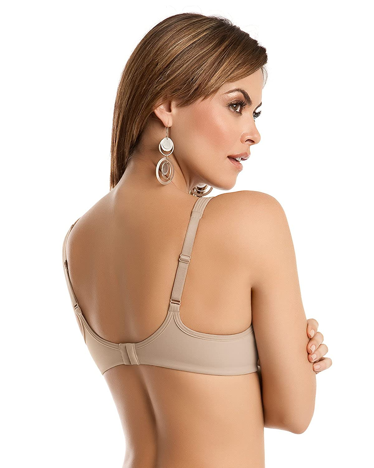 Leonisa Ergonomic Full Coverage Control Bra at Amazon Womens Clothing store: