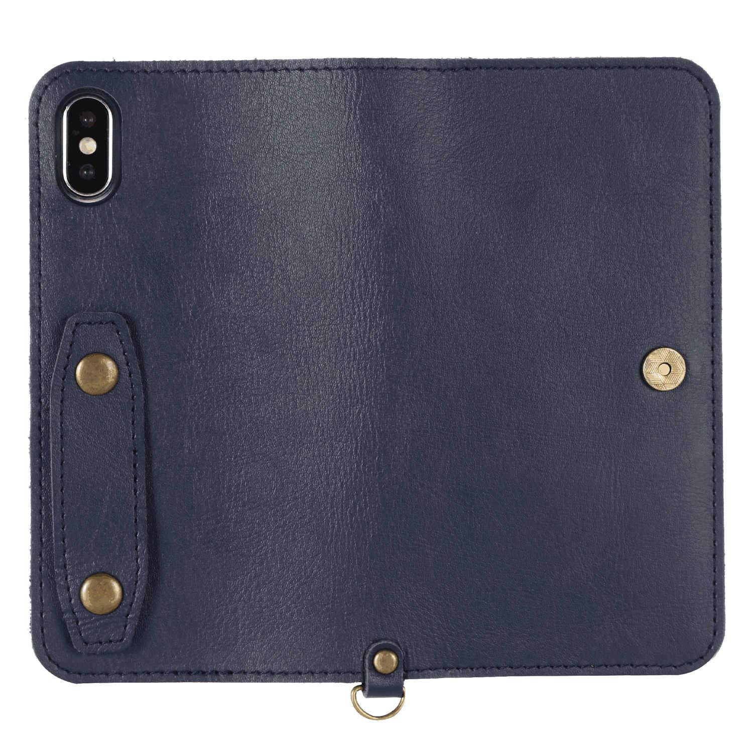 iPhone Xs Max Flip Case Cover for Leather Card Holders Cell Phone Cover Extra-Durable Business Kickstand Flip Cover